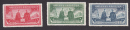 PRC, North Eastern China, Scott #1L176-1L178 Reprint, Mint Hinged, Mao And Stalin, Issued 1950 - North-Eastern 1946-48