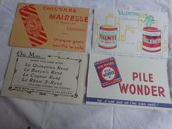 4 Buvards -chicoree Mairesse-valentine-quinquina Banyuls Cognac Rhum-wonder - Shoes