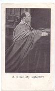 Devotie - Devotion - ZH Exc Mgr Lamiroy Bisschop Brugge - Images Religieuses