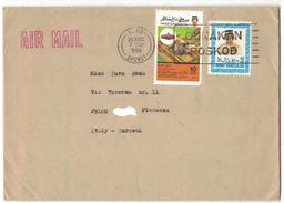 TI70    Brunei - Cover To Italy 1988 - Brunei (1984-...)