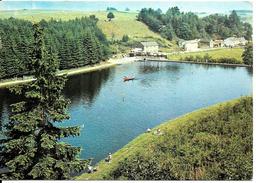 HOUFFALIZE - NADRIN (6660) : Le Lac De Bellemeuse. Petite Animation. CPSM Rare.