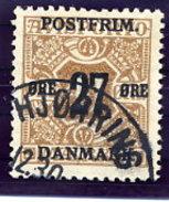 DENMARK 1918 Surcharge 27 Øre On 41 Ø.  Used.  Michel 92X - 1913-47 (Christian X)