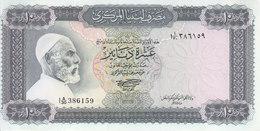 LIBYA 10 DINARS 1972 P-37b SIG/SHERLALA AU-UNC */* - Libya