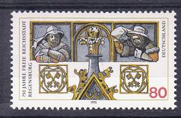 R.F.A. 1995. 750 ANIVERSARIO DE RATISBOA (REGENSBOURG)  YVERT Nº 1618.NUEVO  SIN CHARNELA  SES480GRANDE