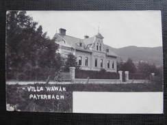 AK PAYERBACH Villa Wawak 1900 /// D*22679 - Semmering