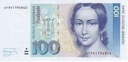 BILLETE DE ALEMANIA DE 100 MARCK DEL AÑO 1991 CALIDAD EBC (XF)  (BANKNOTE) - 100 Deutsche Mark