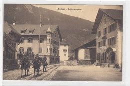 Andeer - Splügenroute Mit Cavallerie    (P24-01230) - GR Grisons