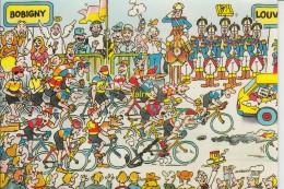 Bobigny- Louvroil 2eme Etape 1984 - Ciclismo