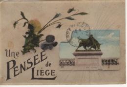 BELGIQUE - LIEGE  MONUMENT  LE TAUREAU - Belgique