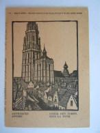 Antwerpen Anvers Onder Den Toren Sous La Tour Red Star Line SS Pennland 1927 Engraving By Pellens - Antwerpen