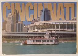 CINCINNATI - RIVERFRONT STADIUM (CINERGY FIELD) - RIVERBOAT - Cincinnati