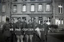Regiment De La Meuse 155 RIF RI Forteresse SF Montmedy Café De Lorraine WW2 Ligne Maginot Drapeau Negatif Photo 3/50 - Guerre, Militaire