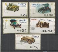 ESPAÑA 5 ATM AUTOMOVIL CAR DION BOUTON FORD PEUGEOT BERLIET AMILCAR