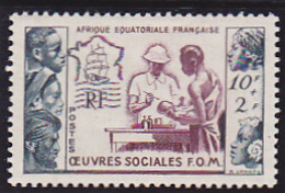 Afrique Equatoriale Française  N° 227  Neuf * - Voir Verso - - Neufs