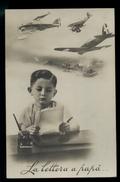 AVIAZIONE MILITARE-  LA LETTERA A PAPA'  - VIAGGIATA NEL 1942 CON TIMBRO DI CENSURA MUTO - Regiments
