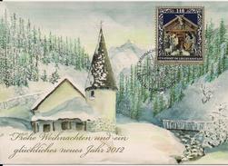 2011 Lichtenstein Mi.1616  Karte Weihnachten