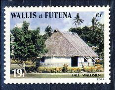WF 1983 N. 302 Edificio Tipico MNH Cat. € 0.80 - Wallis E Futuna