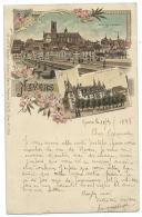 BELLE CPA PRECURSEUR NEVERS, CIRCULEE EN 1898, VUE GENERALE, PALAIS DUCAL, NIEVRE 58 - Nevers