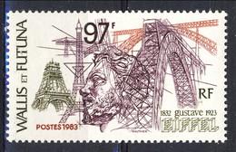 WF 1983 N. 303  Gustave Eiffel MNH Cat. € 3.50 - Wallis E Futuna