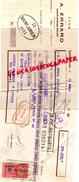 47 -SAINTE LIVRADE - TRAITE A. ERRARD - VINS DE CARMENTRAN-VILLEMADE LAMAURELLE- 1949 - France