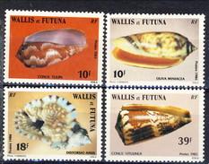 WF 1983 Serie N. 306-311 Conchiglie MNH Cat. €7 - Wallis E Futuna