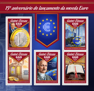 GUINEA BISSAU 2017 - Euro Currency. Official Issue