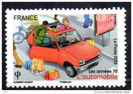 FRANCE    N° ( 2016 ) * *  Auto Voitures Automobile Mobylette Moto