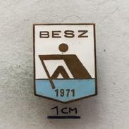 Badge (Pin) ZN004740 - Rowing / Kayak / Canoe Budapest Federation / Association / Union BESZ - Canoeing, Kayak