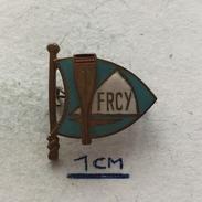 Badge (Pin) ZN004742 - Rowing / Kayak / Canoe Romania Federation / Association / Union FRCY - Rowing