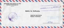 Chili - Recommandé/Registered Letter/Einschreiben -  Chili - Chile