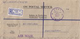 "Kenia- Recommandé/Registered Letter/Einschreiben -  Nairobi ""B"" - Kenia (1963-...)"