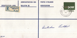 Ierland - Recommandé/Registered Letter/Einschreiben -  Baile Atha Cliath (DN) 211 - Altri