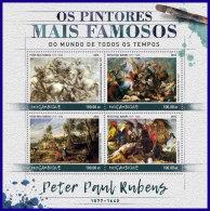 MOZAMBIQUE 2016 ** Peter Paul Rubens Painter Maler Peintre M/S - OFFICIAL ISSUE - DH1709