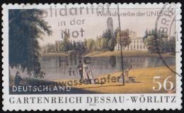 GERMANY - Scott #2159A UNESCO World Heritage, Garden Kingdom Od Dessau-Wörlitz / Used Stamp