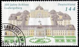 GERMANY - Scott #2285 Ludwigsburg Castle, 300th Anniv. / Used Stamp