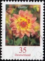 GERMANY - Scott #2311 Dahlie / Used Stamp - BRD