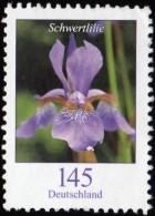 GERMANY - Scott #2321 Iris Xiphium / Used Stamp - Used Stamps
