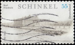 GERMANY - Scott #2373A  Birth Of Architect Karl Friedrich Schinkel, 255th Anniv. «Perf: 10x10 ¼°(*) / Used - Used Stamps