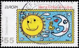 GERMANY - Scott #2484 Greetings Stamp / Used Stamp - BRD