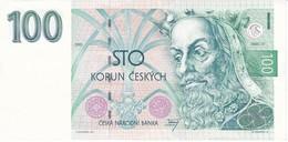 BILLETE DE LA REPUBLICA CHECA DE 100 KORUN DEL AÑO 1993 CALIDAD EBC (XF)  (BANKNOTE) - República Checa