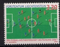 2006 Lichtenstein Mi.1411**MNH  Fußball-Weltmeisterschaft, Deutschland
