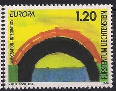 2006 Lichtenstein Mi.1400-1**MNH   Europa: Integration