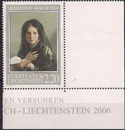 2006 Lichtenstein Mi.1402**MNH   In Träumen Versunken; Von Friedrich Von Amerling