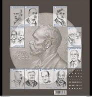 Belgium 2016 - Nobel Prize Souvenir Sheet Mnh - Ungebraucht