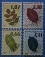 France 1996 : Feuilles D´arbres N° 236 à 239 Oblitéré