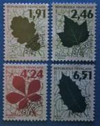 France 1994 : Feuilles D´Arbres N° 232 à 235 Oblitéré
