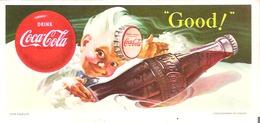 "Coca Cola Blotter  ""Good"" - Softdrinks"