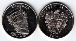 GILBERT ISLAND 2014 Victory 1 Dollar $ UNC - Coins