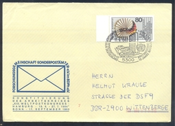 Germany Deutschland 1983 Cover: United Nations; World Post Konress