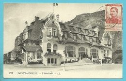 "123 Op Kaart ""Hotel Membres Du Gouvernement Belge"" Met Stempel LE HAVRE (SPECIAL) Op 11/11/1914"